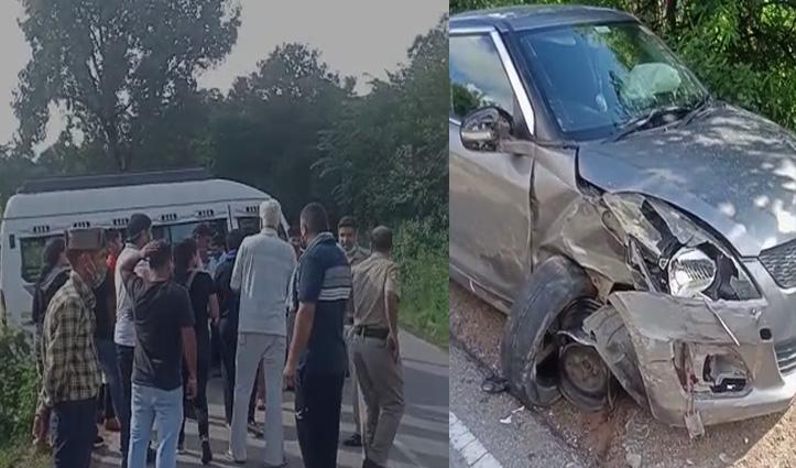 हिमाचल में हादसे, मंडी में टकराई दो गाड़ियां, बैजनाथ में बस की ब्रेक हुई फेल