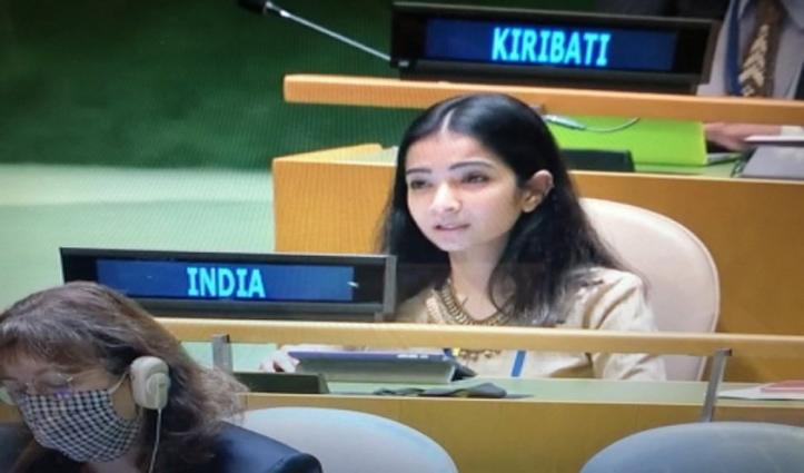 पाक को भारत का जवाब : आतंकवादियों का समर्थक,अल्पसंख्यकों का दमन करने वाला