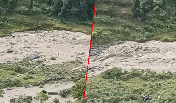 हिमाचल में फिर फटा बादल, आनी के फनौटी पंचायत में  20 KM तक बाढ़ ने मचाई तबाही