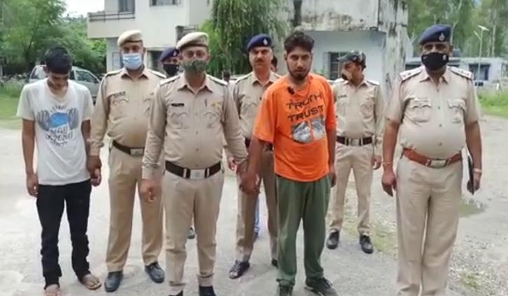 हिमाचल में पकड़ी नशे की बड़ी खेपः हमीरपुर के तीन युवकों को चिट्टे के साथ दबोचा