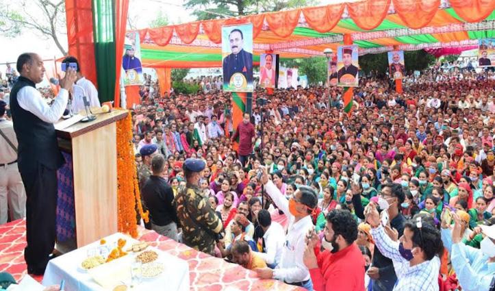 CM जयराम ने कफोटा को दिया एसडीएम ऑफिस, शिलाई में खुलेगा डीएसपी कार्यालय
