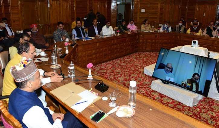 हिमाचल बीजेपी पीएम मोदी के वर्चुअल कार्यक्रम को तैयार, विधायक दल की बैठक में लिए ये फैसले