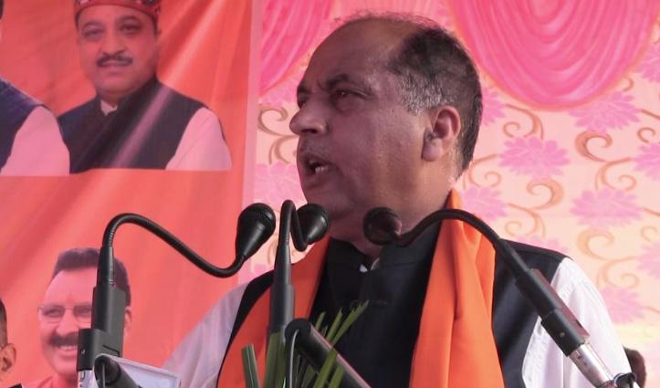 जयराम बोले- मेरे दिल्ली जाने पर कांग्रेस को होता है पेट में दर्द, बीजेपी करेगी रिपीट