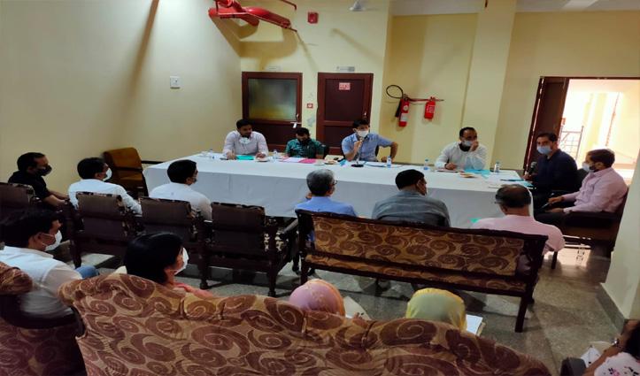 नवरात्र मेले की तैयारी को लेकर डीसी ऊना ने की समीक्षा बैठक, लंगर पर रोक जारी