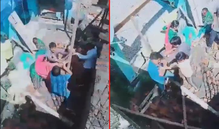 हिमाचल: जमीन विवाद में खूनी झड़प का वीडियो वायरल, जमकर चले ईंट और डंडे, देखें वीडियो