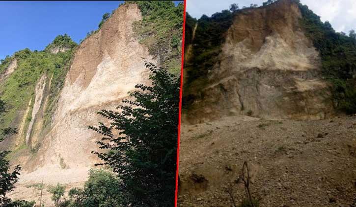 मंडी: धर्मपुर के साहन गांव में लोगों पर टूटा 'मुसीबतों का पहाड़', डर के साए में बीती रात