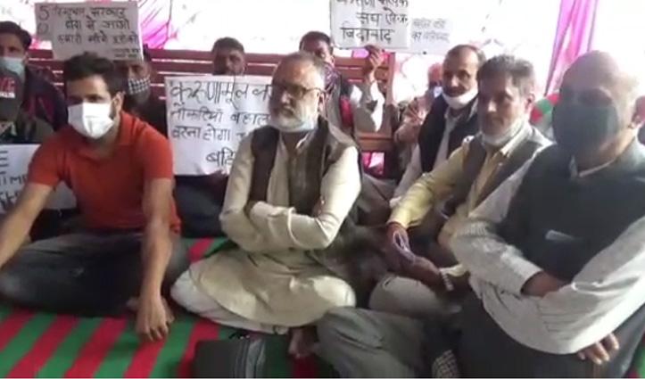 करुणामूल्क आश्रितों से मिलने पहुंचे राजन सुशांत, प्रदेश सरकार को दी ये चेतावनी