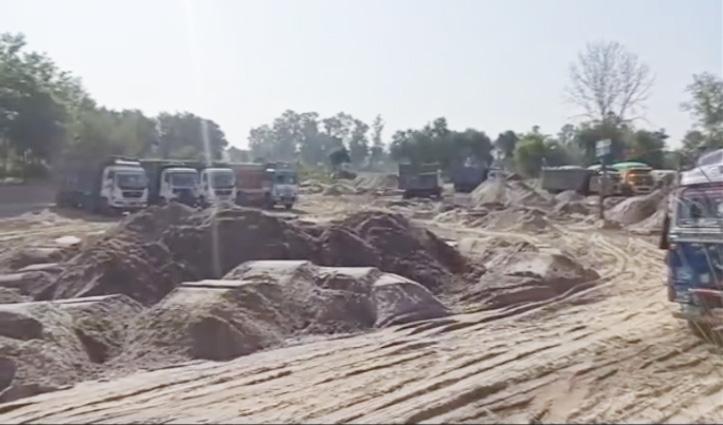 हिमाचल: खनन गतिविधियों से प्रतिबंध हटने के बाद भी पुलिस के पहरे में खनन साइटें, जाने कारण