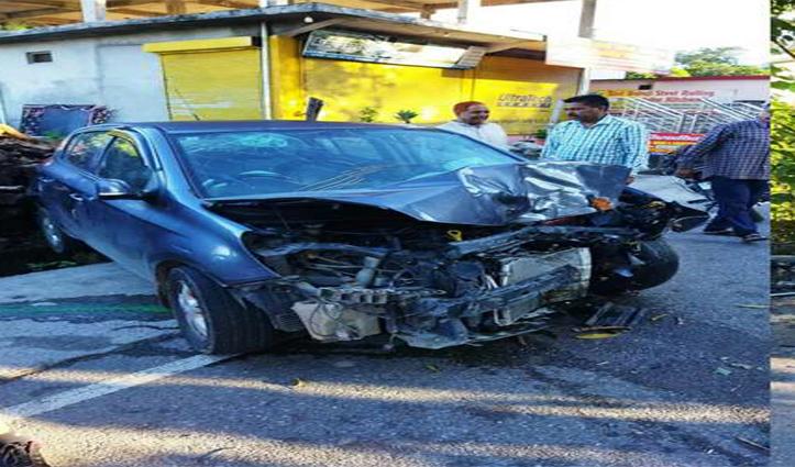 हिमाचल में सुबह-सवेरे दर्दनाक हादसाः पेड़ से टकराई कार ,युवक की गई जान