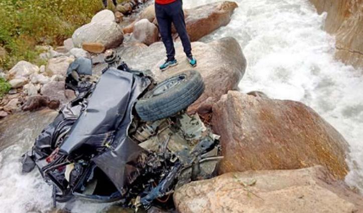 किन्नौर में हादसा, एक ही परिवार के तीन सदस्यों की गई जान, एक महिला लापता