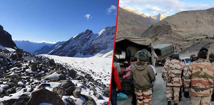 हिमाचल: ग्लेशियर में फंसे पर्वतारोही दल का हुआ रेस्क्यू, आज चांगो धार रुकेगा दल, अब तक दो की टूट चुकी हैं सांसें