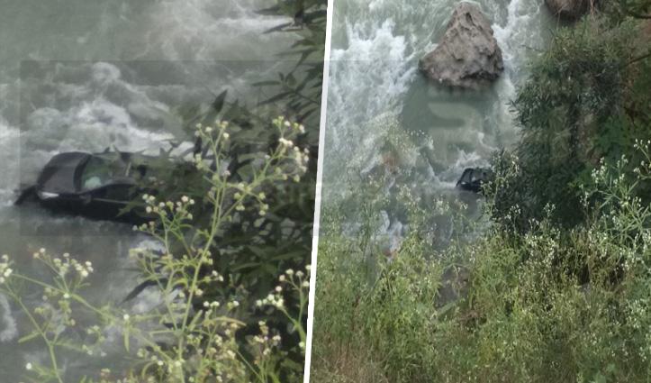 हिमाचलः मंडी में ब्यास नदी में गिरी हरियाणा निवासी की कार, सवार लापता