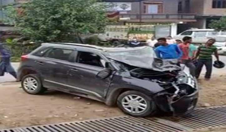 हिमाचलः कार हादसे में चंबा के डॉक्टर की मौत- साथी घायल, आधी रात को नेरचौक से जा रहे थे मंडी