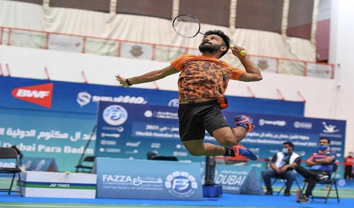 टोक्यो पैरालंपिक: कृष्णा नागर ने बैडमिंटन में भारत के लिए स्वर्ण पदक जीता