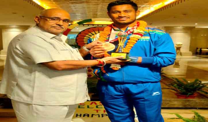 हिमाचल BJP प्रभारी अविनाश राय खन्ना ने किया पैरालंपिक 2020 के खिलाड़ियों का स्वागत