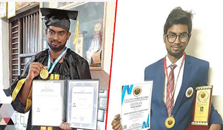 कालाअंब: 18 साल की उम्र में विवेक को कनाडा की यूनिवर्सिटी ने दी Ph.D की उपाधि
