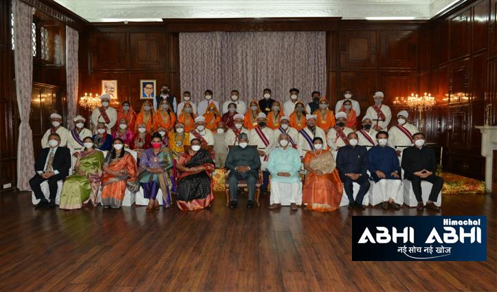 हिमाचल: राष्ट्रपति के सम्मान में सांस्कृतिक कार्यक्रम और रात्रि भोज का आयोजन, देखें शानदार तस्वीरें