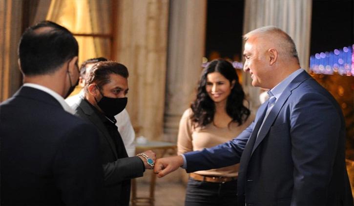 सलमान खान- कैटरीना ने तुर्की के मंत्री नूरी एर्साय से की मुलाकात