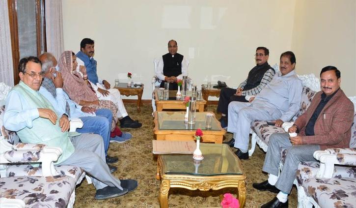 सर्वदलीय बैठक में राष्ट्रपति रामनाथ कोविंद के हिमाचल दौरे पर चर्चा, जाने क्या बोला विपक्ष