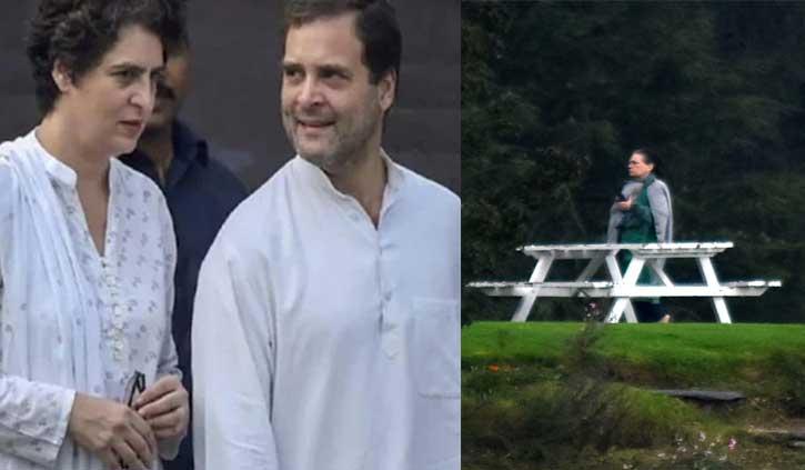 ब्रेकिंगः हिमाचल से राहुल- प्रियंका लौटे दिल्ली वापस, सोनिया गांधी दो दिन रुकेंगी