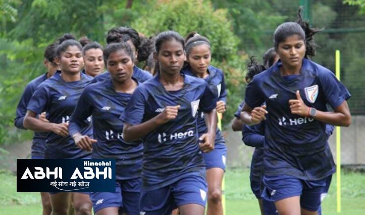 डेनर्बी ने दोस्ताना मुकाबले के लिए भारतीय महिला फुटबॉल टीम घोषित की