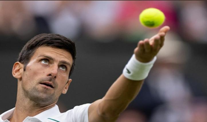 यूएस ओपन के दूसरे दौर में पहुंचे विश्व के नंबर-1 टेनिस खिलाड़ी नोवाक जोकोविच