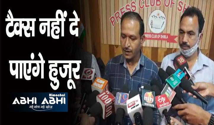 हिमाचल: गुहार लगा रहे टैक्सी ऑपरेटर, कोरोना काल में काम ठप हो गया है सरकार