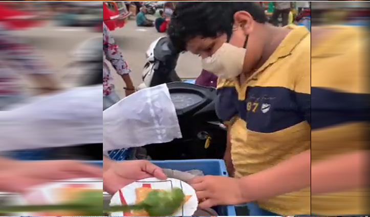 दही कचौड़ी बेचते 14 साल के बच्चे का वीडियो वायरल, मिला जबरदस्त सपोर्ट