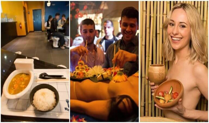 अजीबो-गरीब थीम्स रेस्टोरेंट: कहीं न्यूड परोसा जाता है खाना, तो कहीं टॉयलेट की सीट पर मिलता है