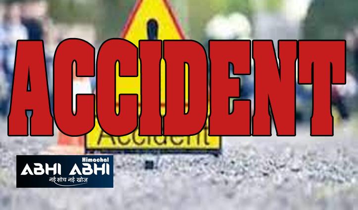 चंडीगढ़-मनाली NH पर दर्दनाक हादसा, तेज रफ्तार ट्रक ने स्कूटी सवार को कुचला