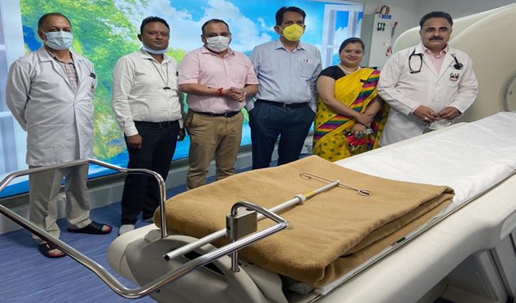 श्रीबालाजी अस्पताल कांगड़ा में हिमाचल की पहली पैट स्कैन मशीन का हुआ शुभारंभ