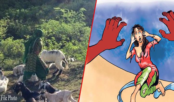 हिमाचल: पशुओं को चराने जंगल गई विवाहिता से पड़ोसी ने किया दुष्कर्म का प्रयास, कपड़े भी फाड़े