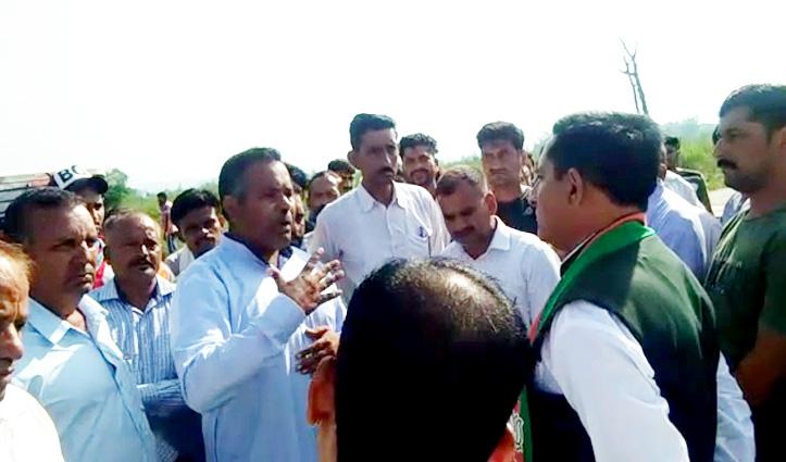 हिमाचल: वोट मांगने पहुंचे बीजेपी प्रत्याशी बलदेव का यहां हुआ जोरदार विरोध, लोगों ने रखी ये शर्त