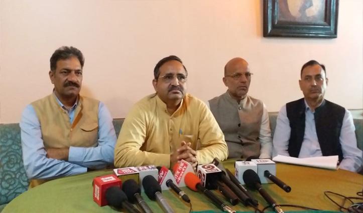 बीजेपी ने प्रतिभा सिंह के बयान पर किया पलटवार, कहा- कांग्रेस प्रत्याशी ने किया सेना का अपमान