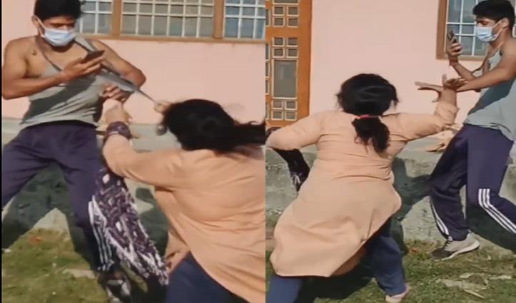 हिमाचल: महिलाओं और पूर्व सैनिक की अकादमी के प्रशिक्षुओं के बीच हुई हिंसक झड़प, देखें वीडियो
