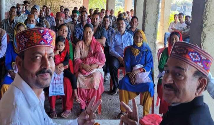 हिमाचल उपचुनाव: कौल सिंह ने प्रतिभा सिंह के लिए मांगे वोट, बोले- विफल रही जयराम सरकार
