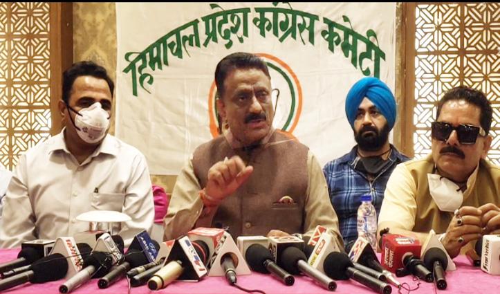 कुलदीप राठौर को आशंका, सरकार सीमेंट कंपनियों से ले रही चुनावी चंदा