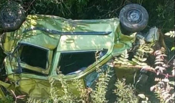 हिमाचल: शादी समारोह में आए लोगों की कार दुर्घटनाग्रस्त, दो की गई जान-दो घायल
