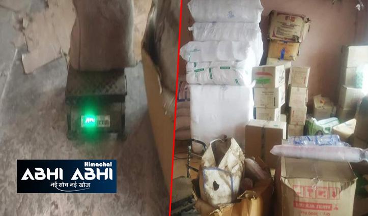 हिमाचलः पुलिस ने दुकान से शराब के साथ बरामद किया 73 किलो प्रतिबंधित सामान