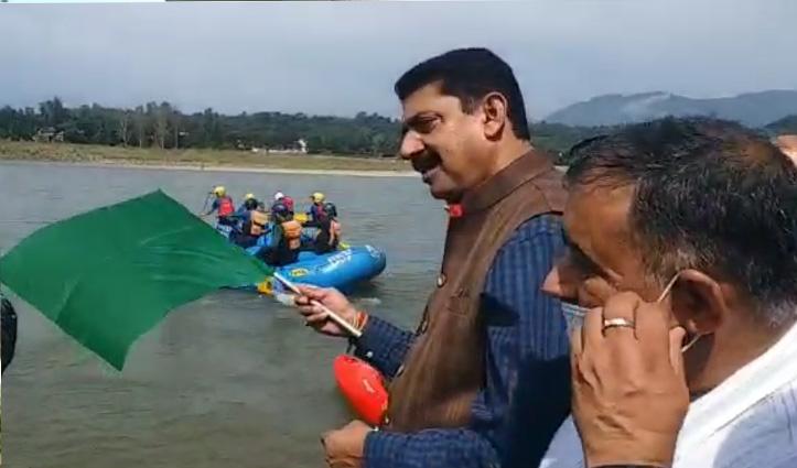 हिमाचल में ऑल इंडिया रिवर राफ्टिंग मैराथन सीरीज शूरू, देशभर की 28 टीमें दिखाएगी दमखम