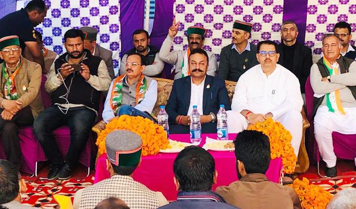 हिमाचल उपचुनावः संजय दत्त का बड़ा बयान, सोनिया गांधी से करके आया हूं बात, अगली बार रोहित को मिलेगा बड़ा पद