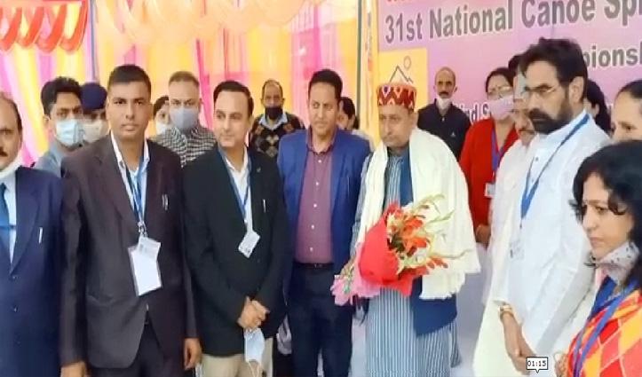 हिमाचल में शुरु हुई राष्ट्रीय वाटर स्पोर्ट्स प्रतियोगिता, 26 राज्यों की टीमें ले रही हिस्सा