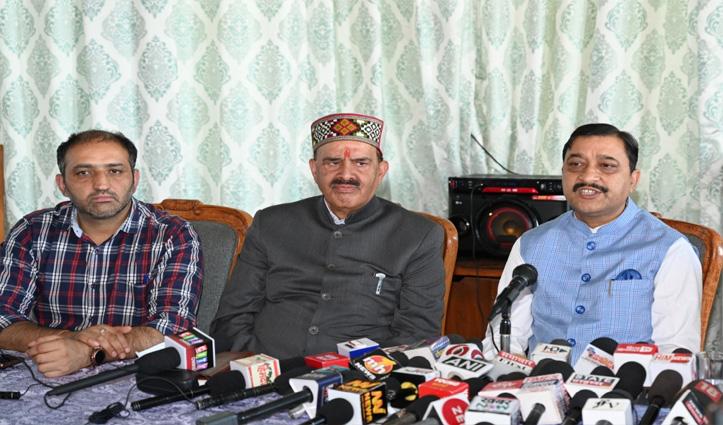 उपचुनाव: 'वीरभद्र सिंह देशभक्त थे, अगर जिंदा होते कन्हैया को हिमाचल में पांव रखने नहीं देते'