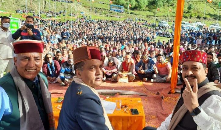 हिमाचल उपचुनाव: CM जयराम बोले- ये सराजी करेगा कांग्रेस का हिमाचल में सूपड़ा साफ